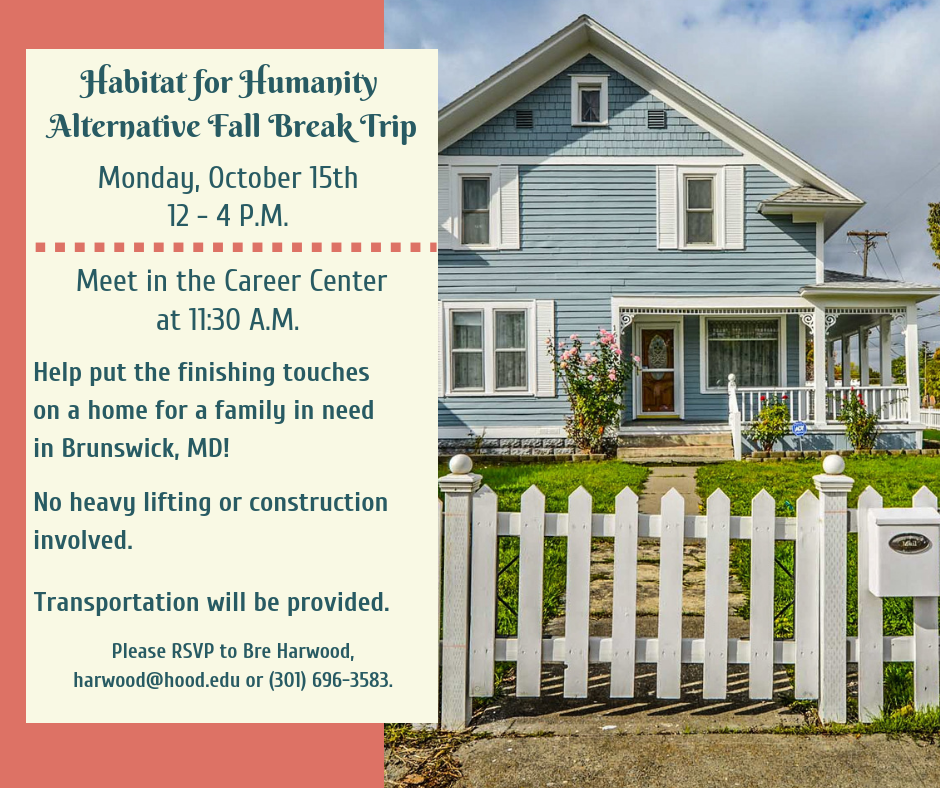 Habitat for Humanity Fall Break 2018