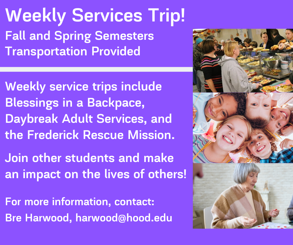 Weekly Service Trips