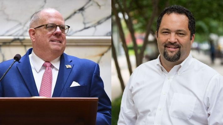 Larry Hogan and Ben Jealous