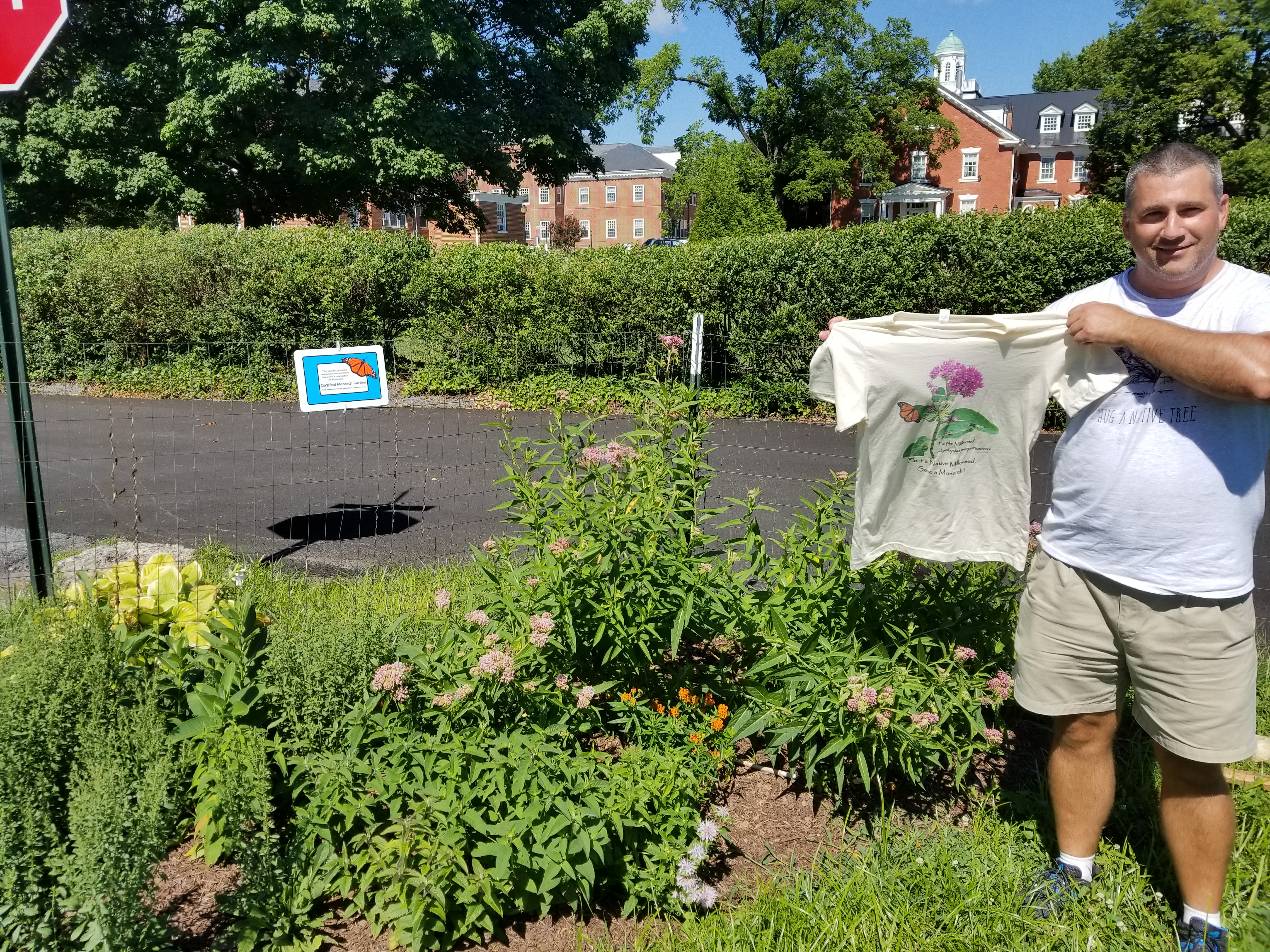 John Maciolek expands Monarch Garden