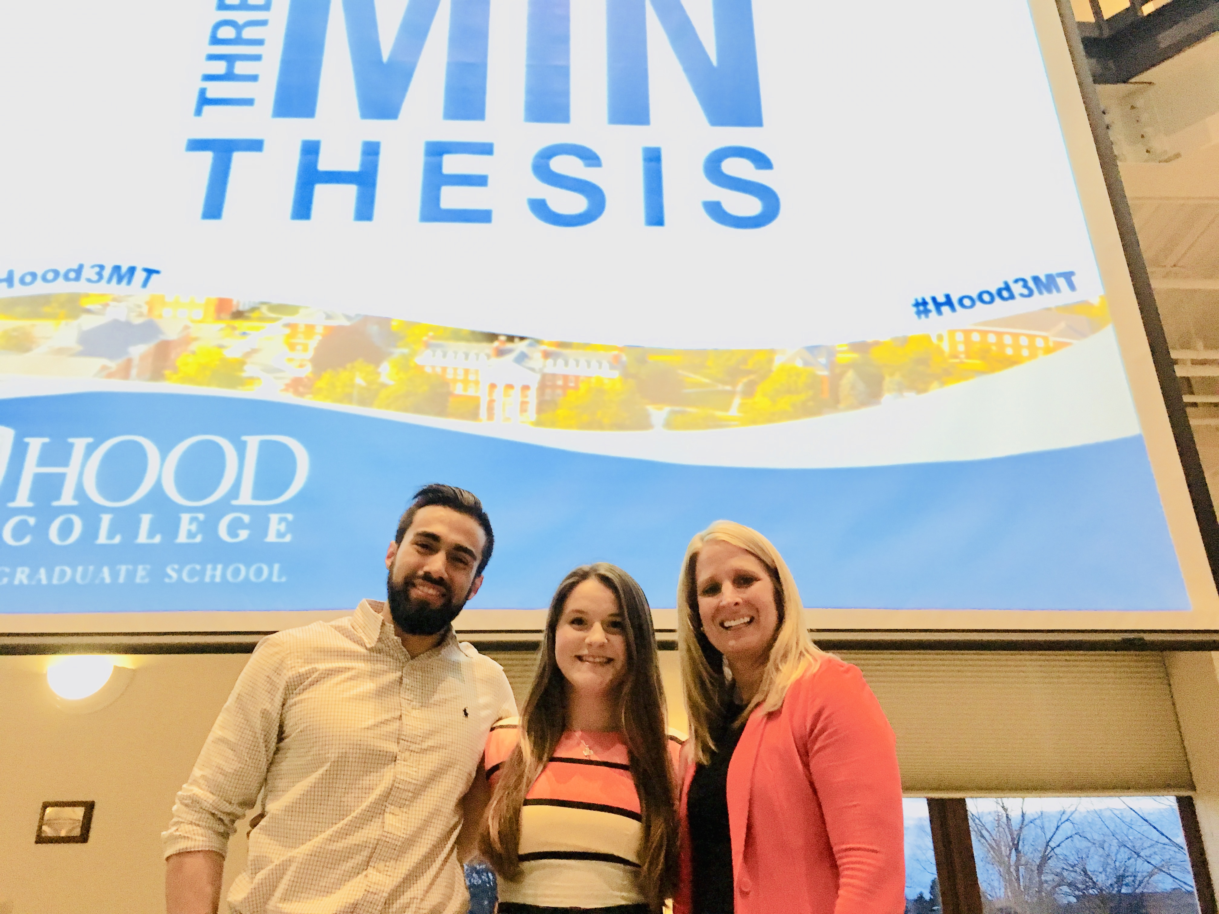 Hood College 3MT Competition Winners