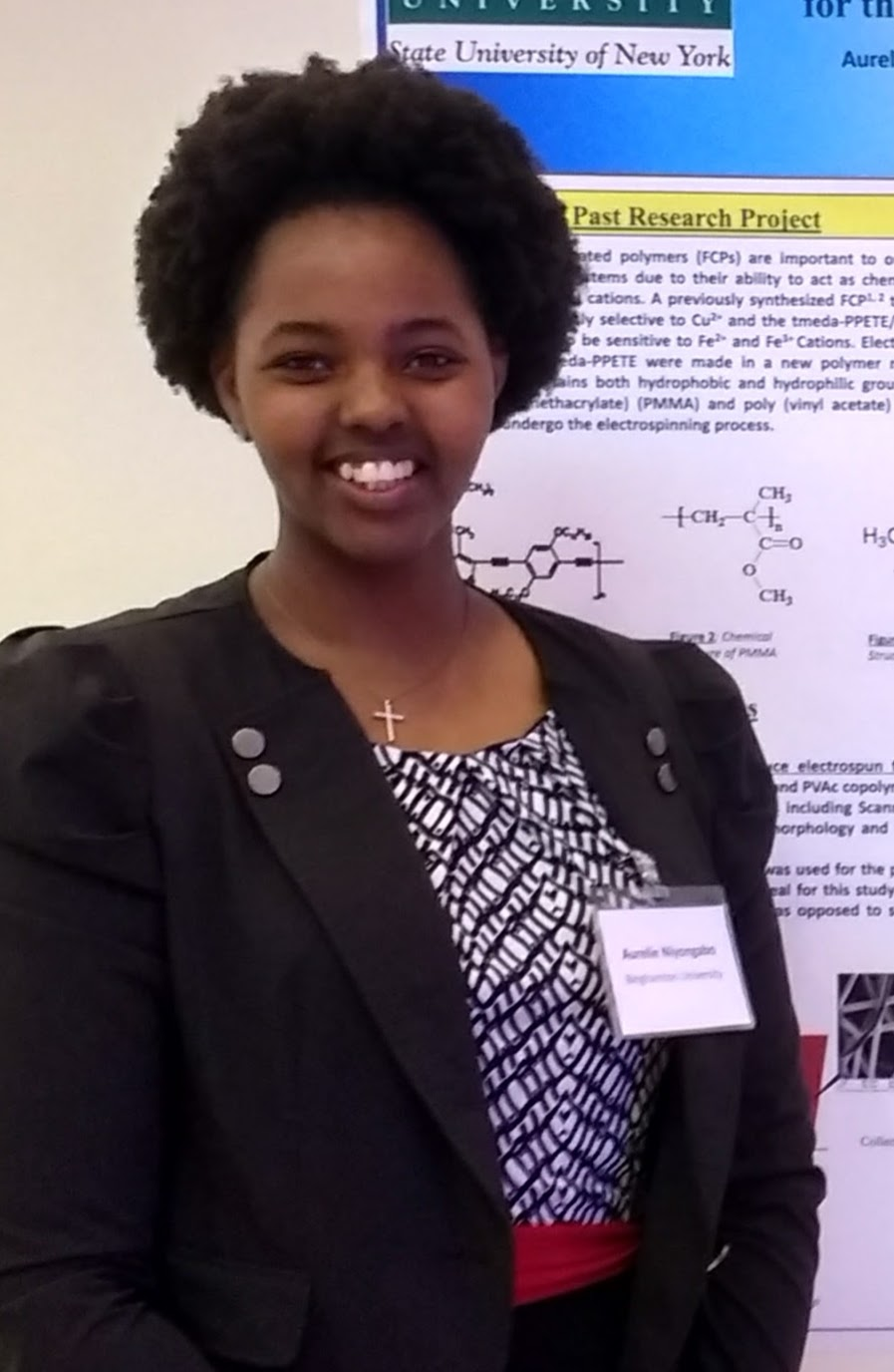 Aurelie Niyongabo, Biomedical Science