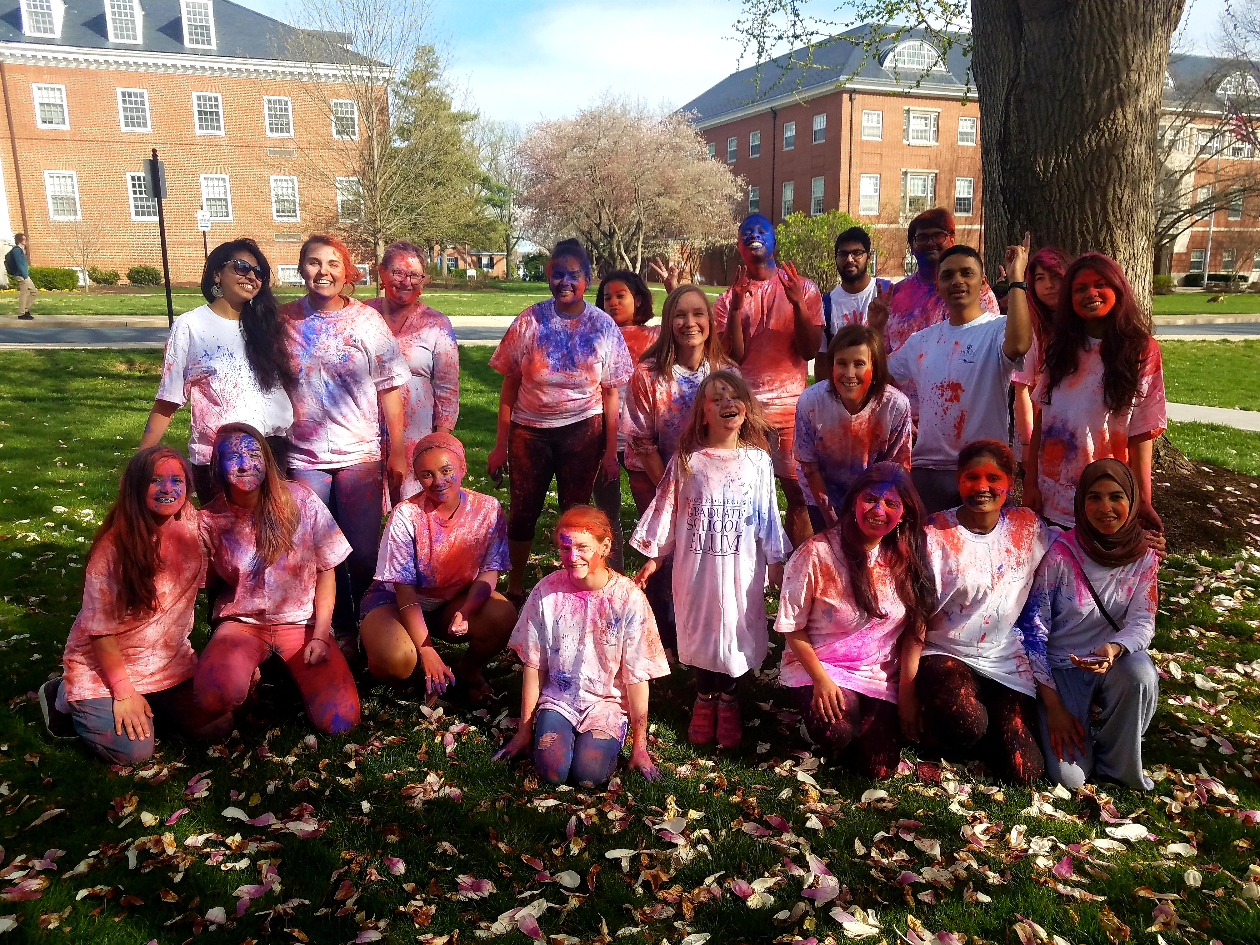 Hood College Holi Celebration
