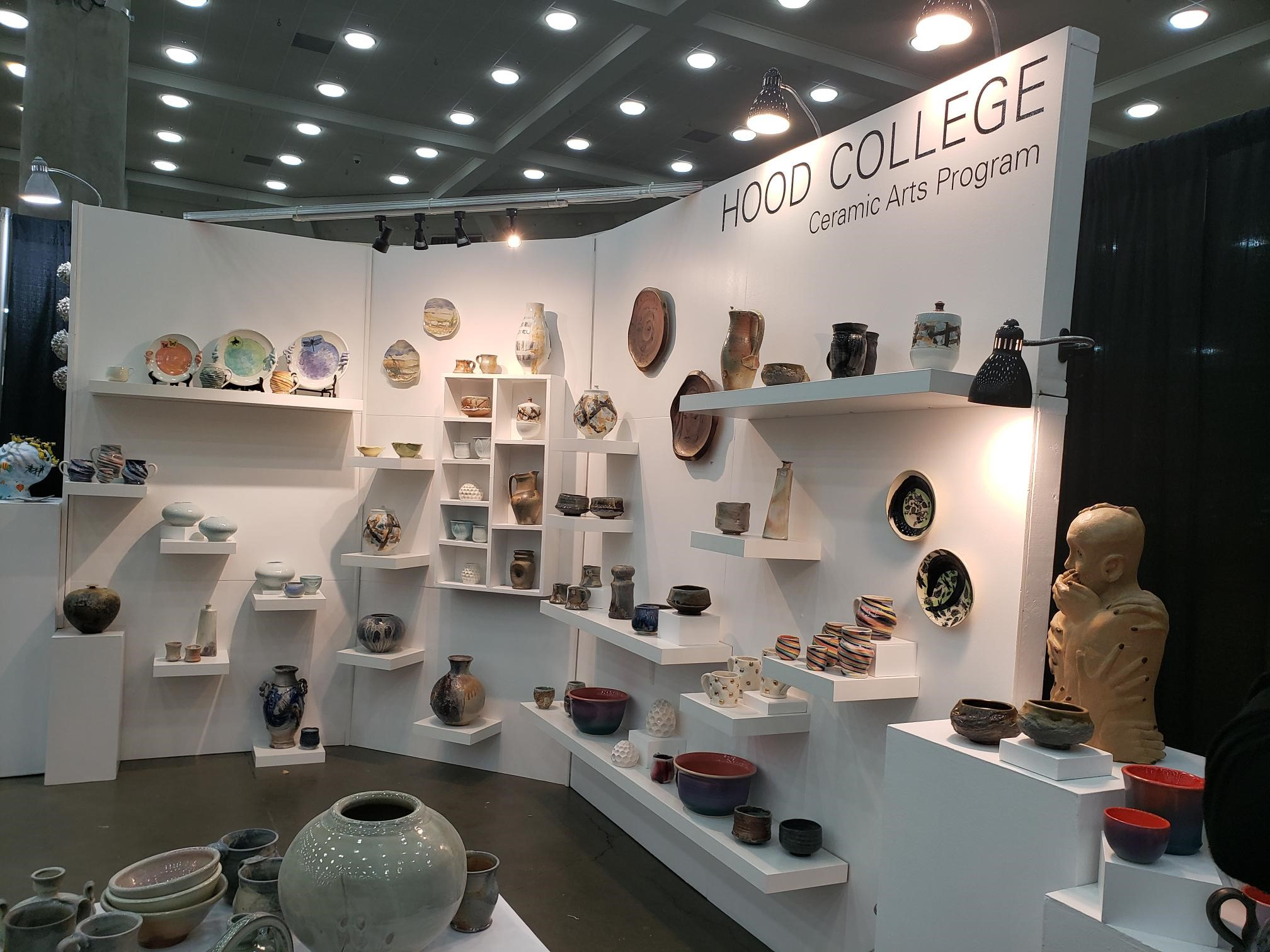 Hood College Ceramic Arts Exhibit at the 2019 American Craft Council Show