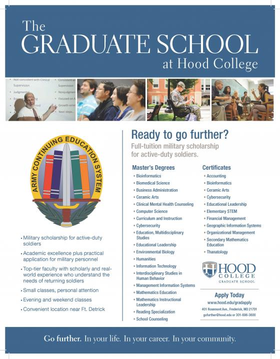 Hood College Military Scholarship