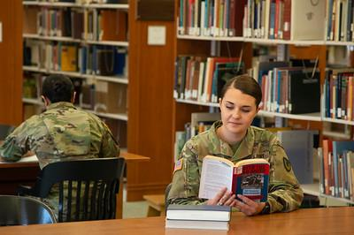 Fort Detrick Soldier Studying at Hood College