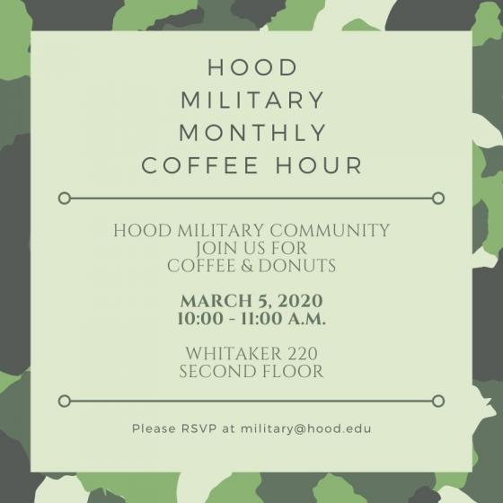 Hood Military Coffee Hour