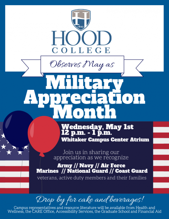 Military Appreciation Day at Hood College