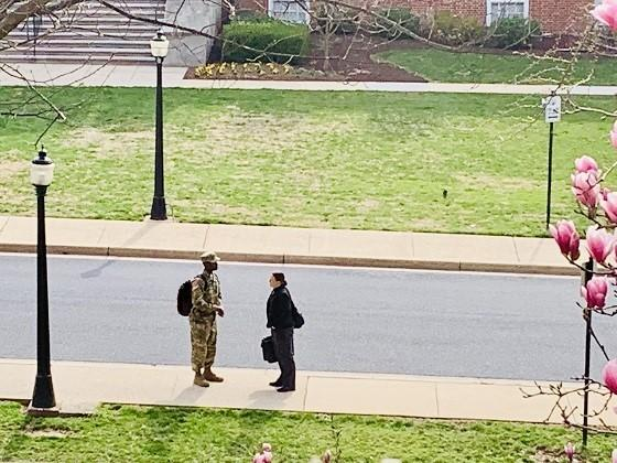 Fort Detrick Soldier on Campus