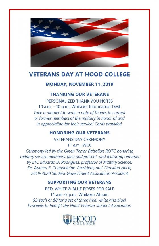 Hood Veterans Day 2019