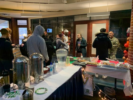 Hood Active Duty Cookies & Coffee Event