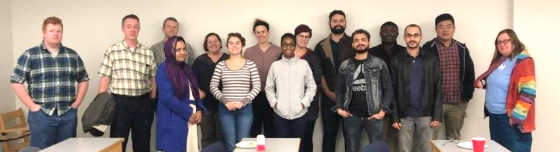 Graduate students launch a new Bioinformatics Club