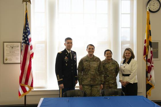 Hood College and Fort Detrick Sign Agreement to Provide Graduate Scholarships for Active Duty Military