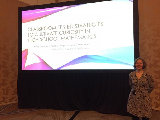 Christy Graybeal Presents at NCTM Conference