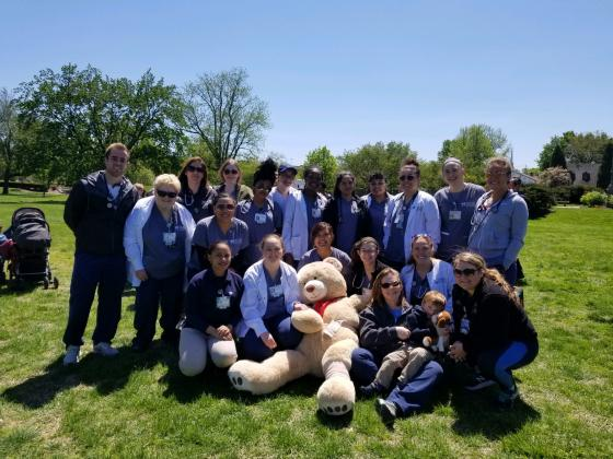 Students provide checkups for Teddy Bears