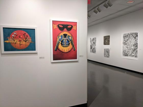 Capstone Exhibitions in the Hodson Gallery