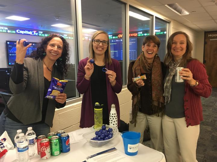 Faculty and Staff celebrating Graduate Student Appreciation Week