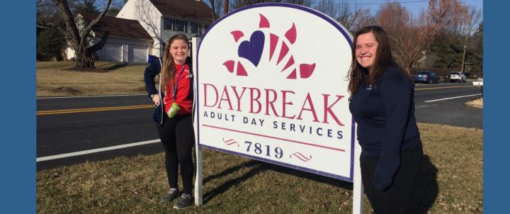 Daybreak Senior Day Services Volunteers