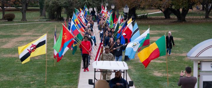 Hood Parade of Flags