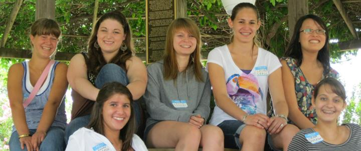 Students at the Young Writers Conference