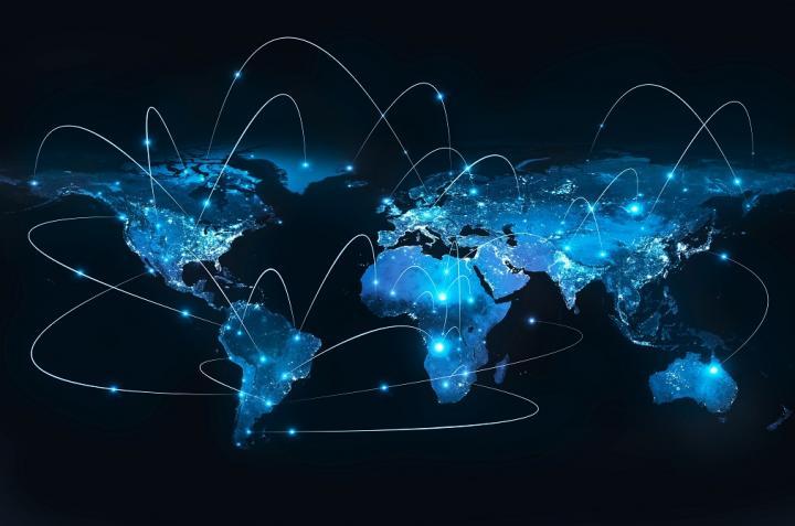 Photo of global network