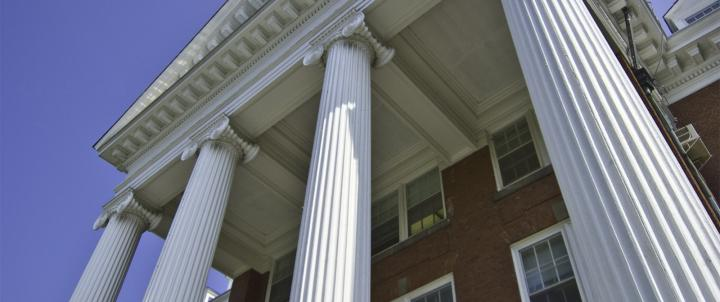Alumnae Hall columns
