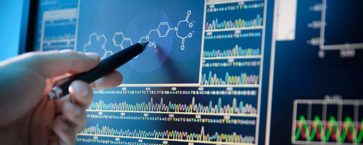bioinformatics stock photo